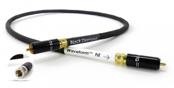 Цифровой SPDIF кабель Tellurium Q Black Diamond Waveform hf 1 М