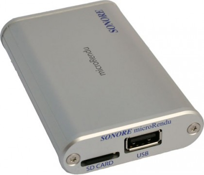 Ethernet-USB стример Sonore microRendu